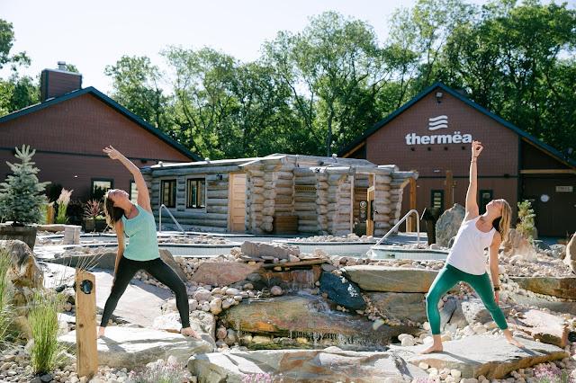 Winnipeg Yoga, Prairie Love Festival, Sam Squire, Rachelle Taylor, Thermea Winnipeg, Nature Spa, Spa Yoga