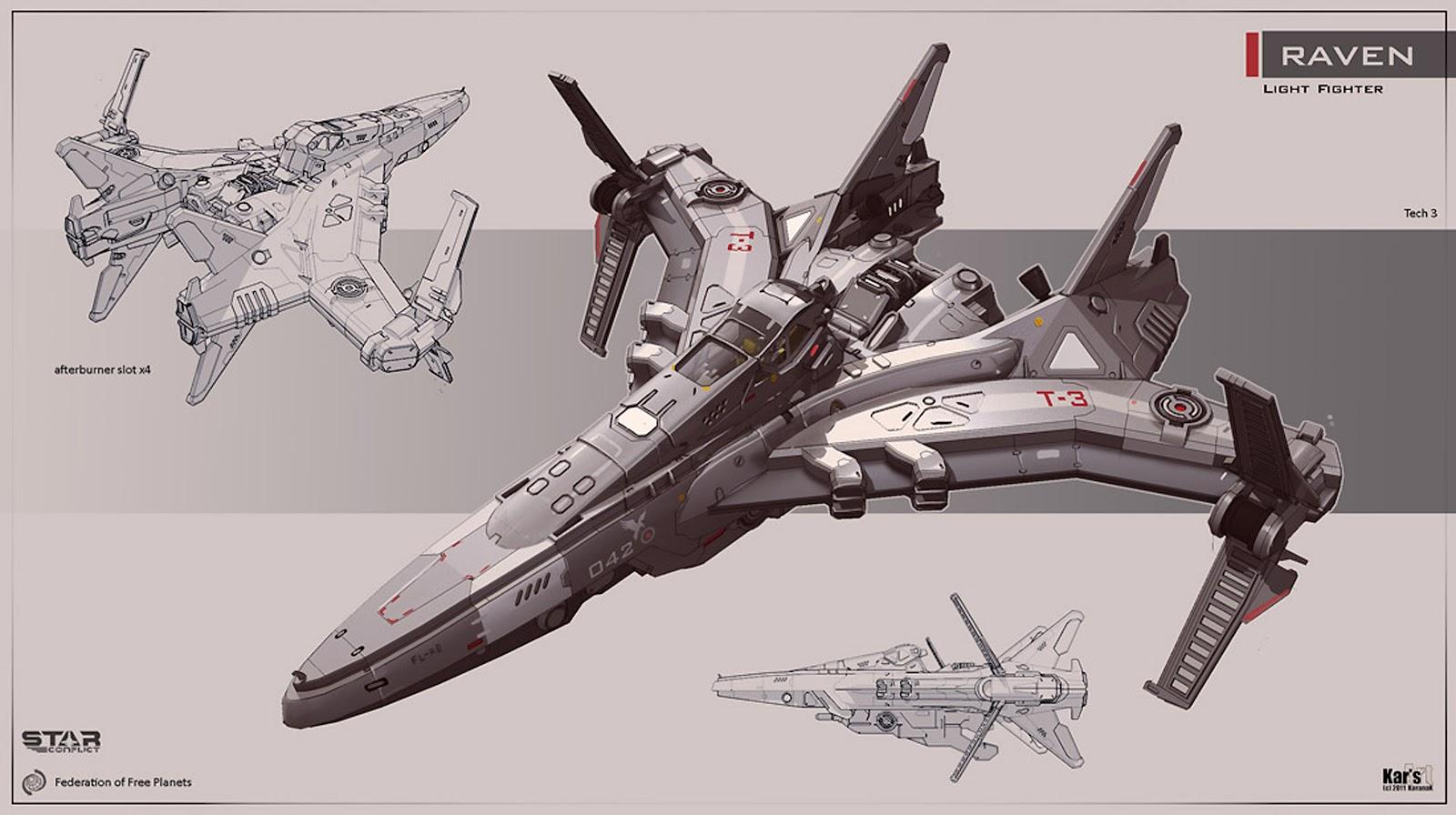 Image result for light space ship fighter deviantart