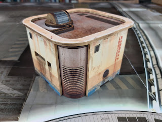 A small building for Judge Dredd Miniatures Game
