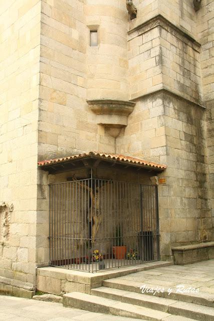 el Cristo del Buen Viaje de Pontevedra