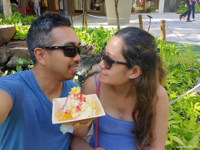 Hawaiian Shaved Ice Cream