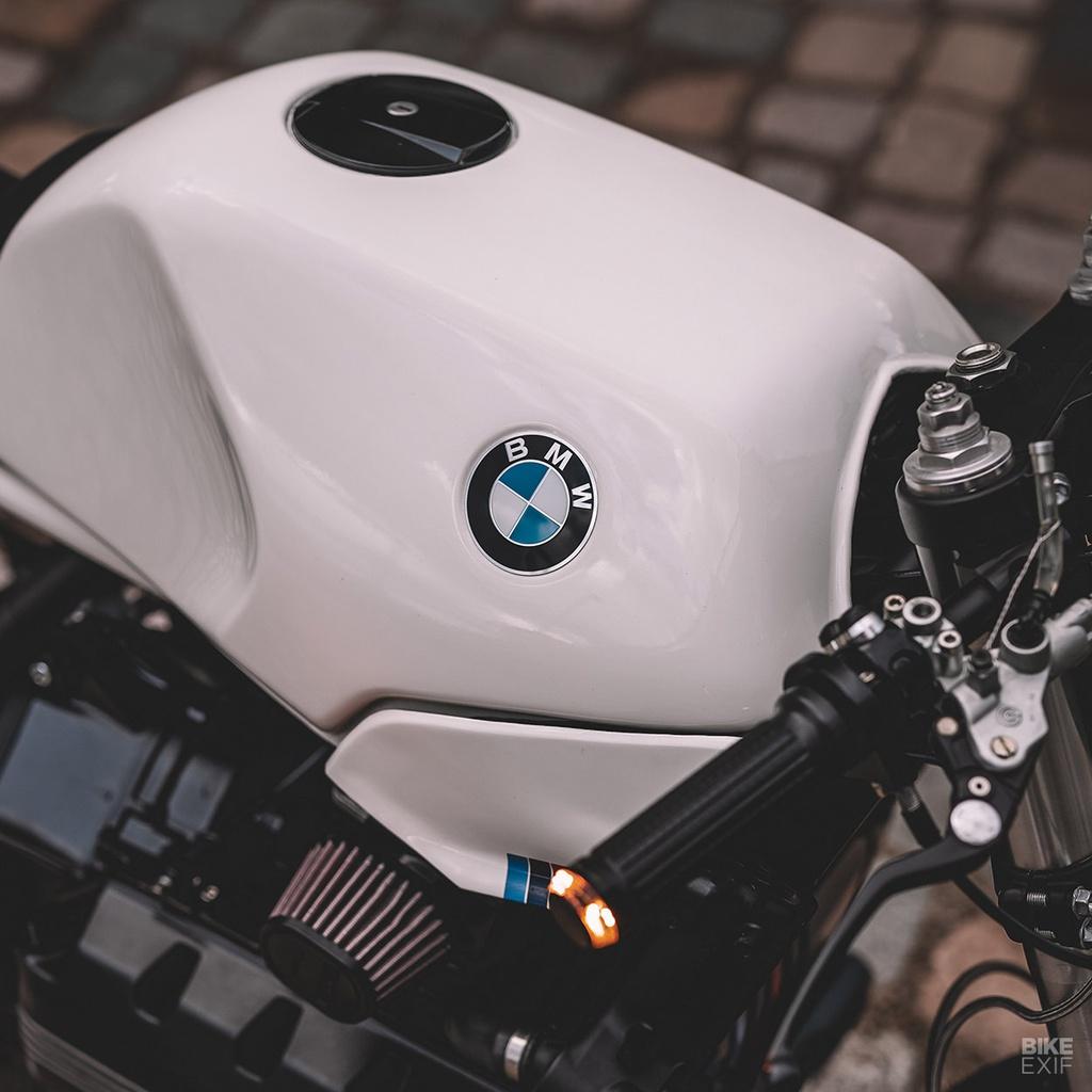 BMW K100RS lột xác theo phong cách cafe racer