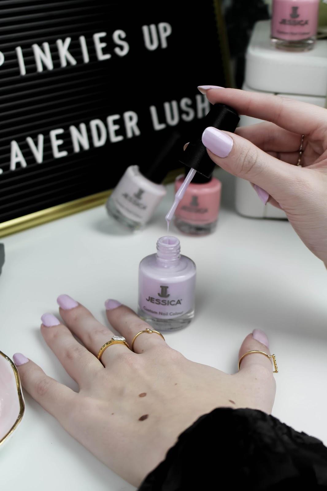 Jessica Nails La Vie en Rose Lavender Lush