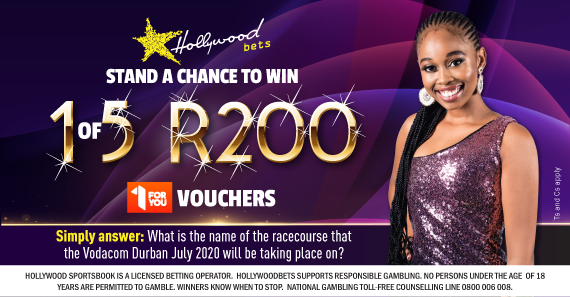 Stand a chance to win 1 of 5 R200 1ForYou vouchers