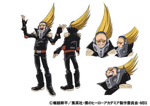 พรีเซ้นท์ไมค์ (Present Mic) @ My Hero Academia: Boku no Hero Academia มายฮีโร่ อคาเดเมีย