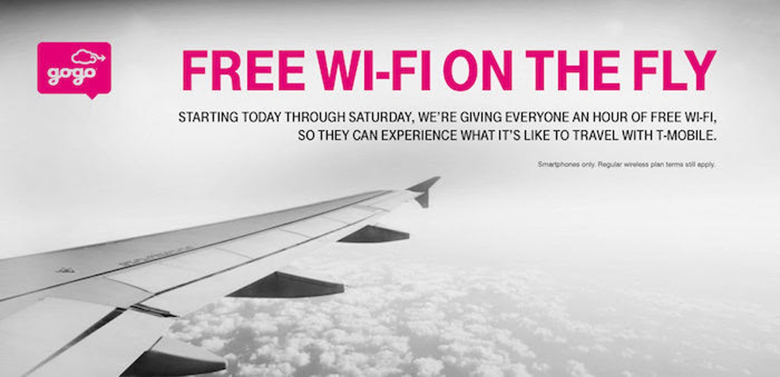 A Special Deal For Air Travelers This Week With Free Inflight Wi Fi From Gogo T Mobile