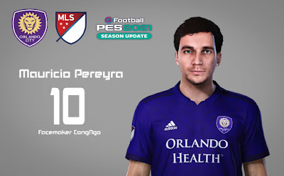 PES 2021 Faces Mauricio Pereyra by CongNgo