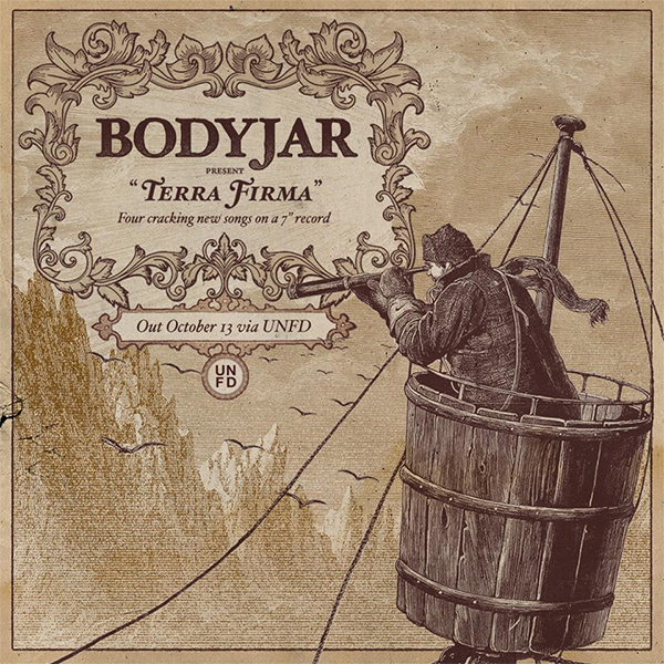 "Bodyjar announce new EP ""Terra Firma"" stream new song ""Burning It Down For Nothing"""