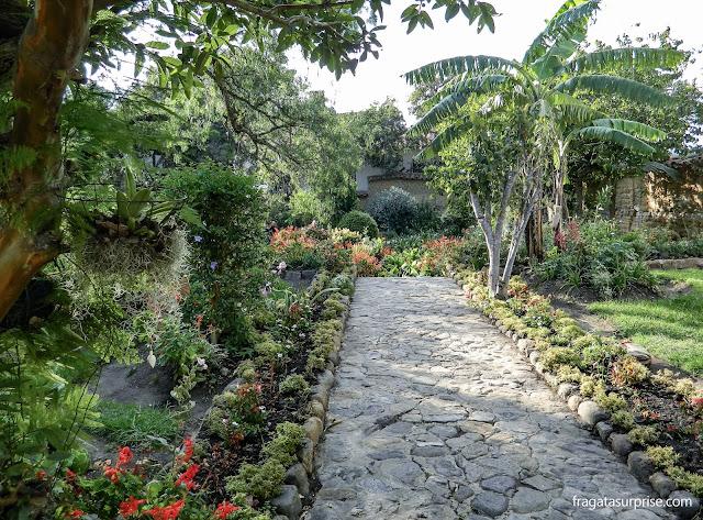 Jardins da Casa Museu Antonio Ricaurte, Villa de Leyva Colômbia