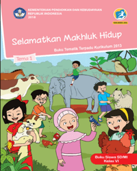 Buku tema 1 Siswa Kelas 6 k13 2018