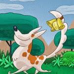 El Perro con campanilla fábula con moraleja de Esopo