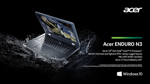 Acer Enduro Notebooks and Tablets