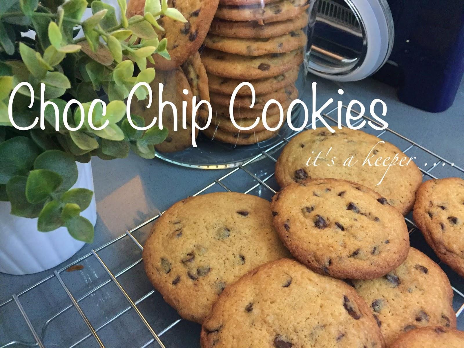 resepi biskut coklat chip sedap