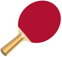 raket / bet tenis meja