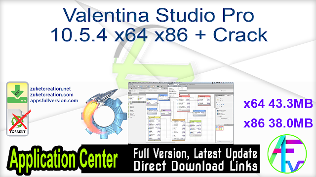 Valentina Studio Pro 10.5.4 x64 x86 + Crack