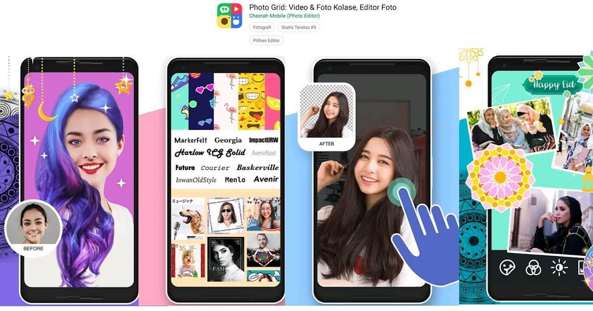 Aplikasi Edit Foto Yang Lagi Trend Ini, Eits Anak Zaman ...