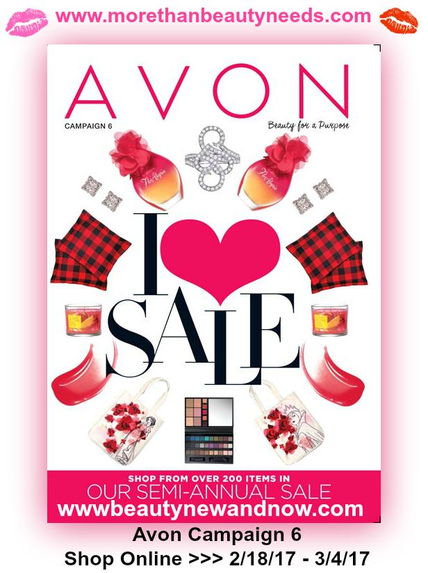 Shop Avon Campaign 6 2017 >>>