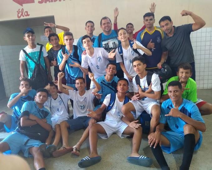 Equipes de Barcelona e campeã dos jogos estudantil ( Jerns)  na cidade São Paulo do potengi