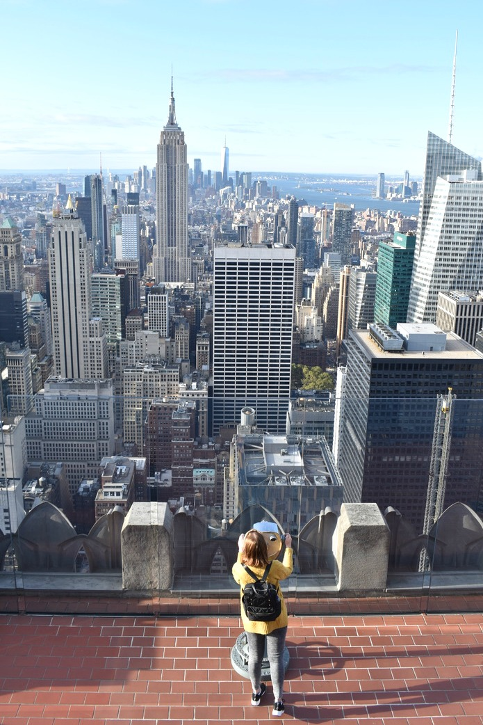 40 Things you must do in New York - Top of the Rock