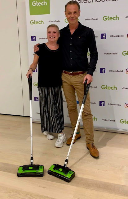 madmumof7 and GTech founder Nick Grey