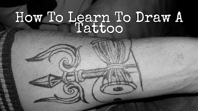 How To Learn To Draw A Tattoo