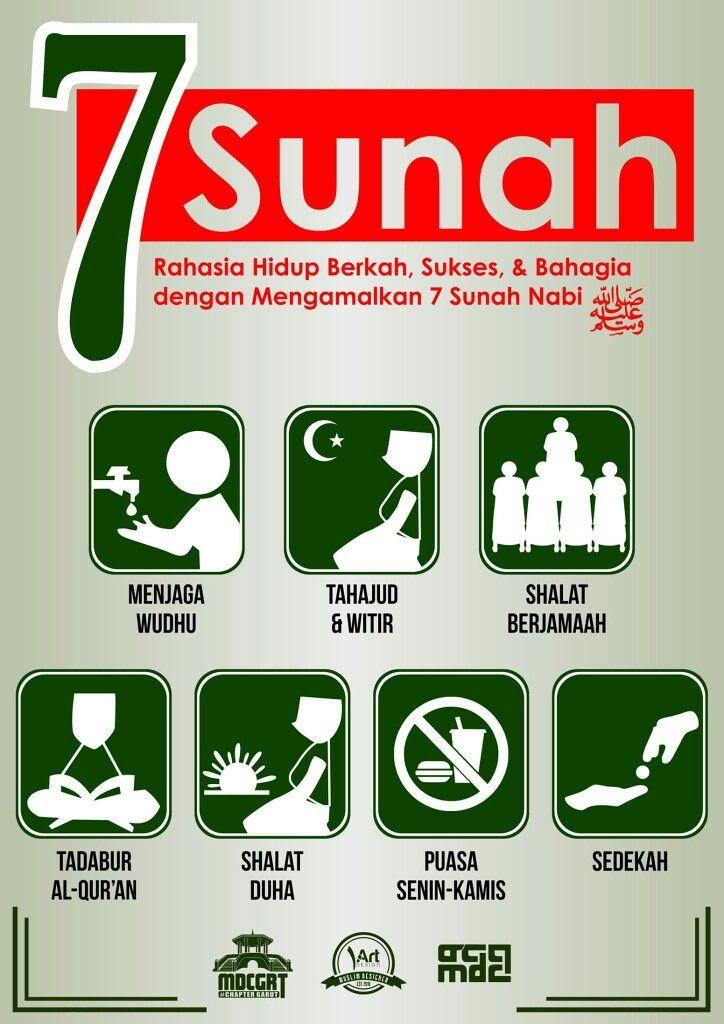 7 Sunnah Hebat!!!