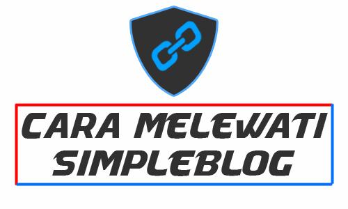 cara melewati link download simpleblog me