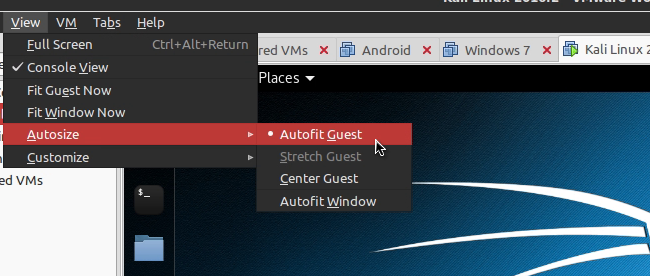 Cara Setup VMware Guest OS Menjadi Fullscreen