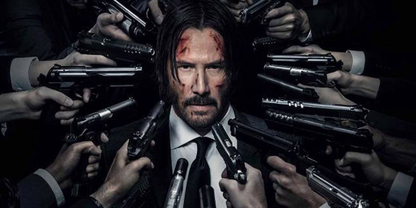 Post Credit Coda John Wick Chapter 2 Corpses Are Red
