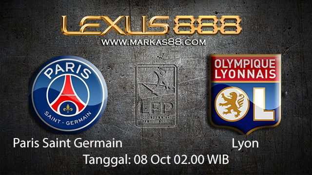 Prediksi Bola Jitu Paris Saint Germain vs Lyon 08 Oktober 2018 ( French Ligue 1 )