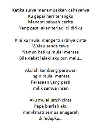 Lirik Lagu Gita Gutawa Kembang Perawan