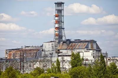 La centrale nucleare di Chernobyl.
