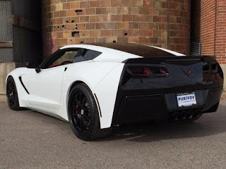 Custom 2014 Chevy Corvette Stingray at Purifoy Chevrolet near Denver Colorado