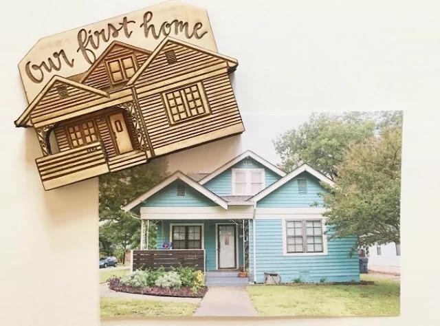 the custom magnet of house