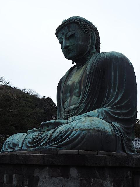 Giant Buddha Daibutsu Kamakura