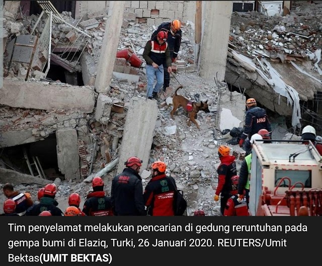 Gempa Bumi di Perbatasan Turki Iran,8 Orang Meninggal