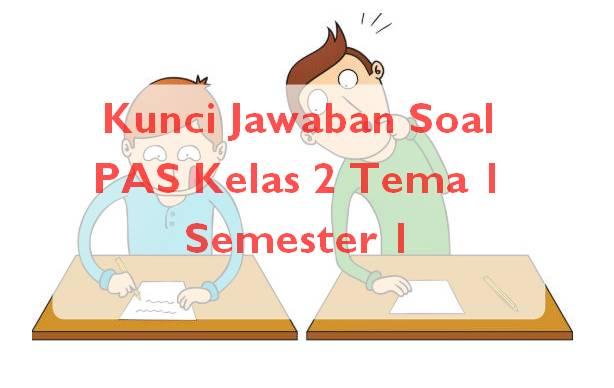 Kunci Jawaban Soal PAS Kelas 2 Tema 1 Semester 1