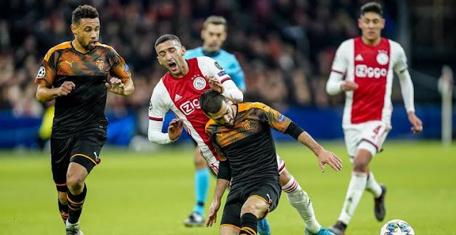 فالنسيا يقصي اياكس امستردام من دوري أبطال أوروبا