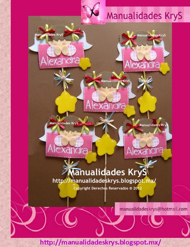 aa40b6633 Manualidades KryS  FieSTaS InFanTiLeS!!!