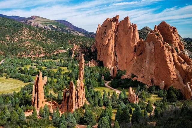 Taman Para Dewa, Colorado, AS