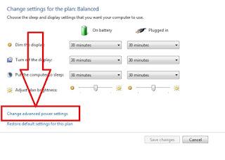 cara atur notifikasi batrei lemah di laptop