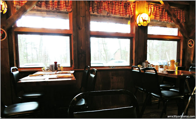 Parker`s Maple Barn Restaurante
