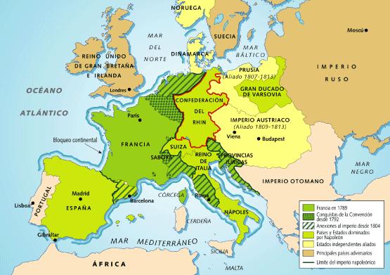 Império Napoleônico na França (1804 - 1815)