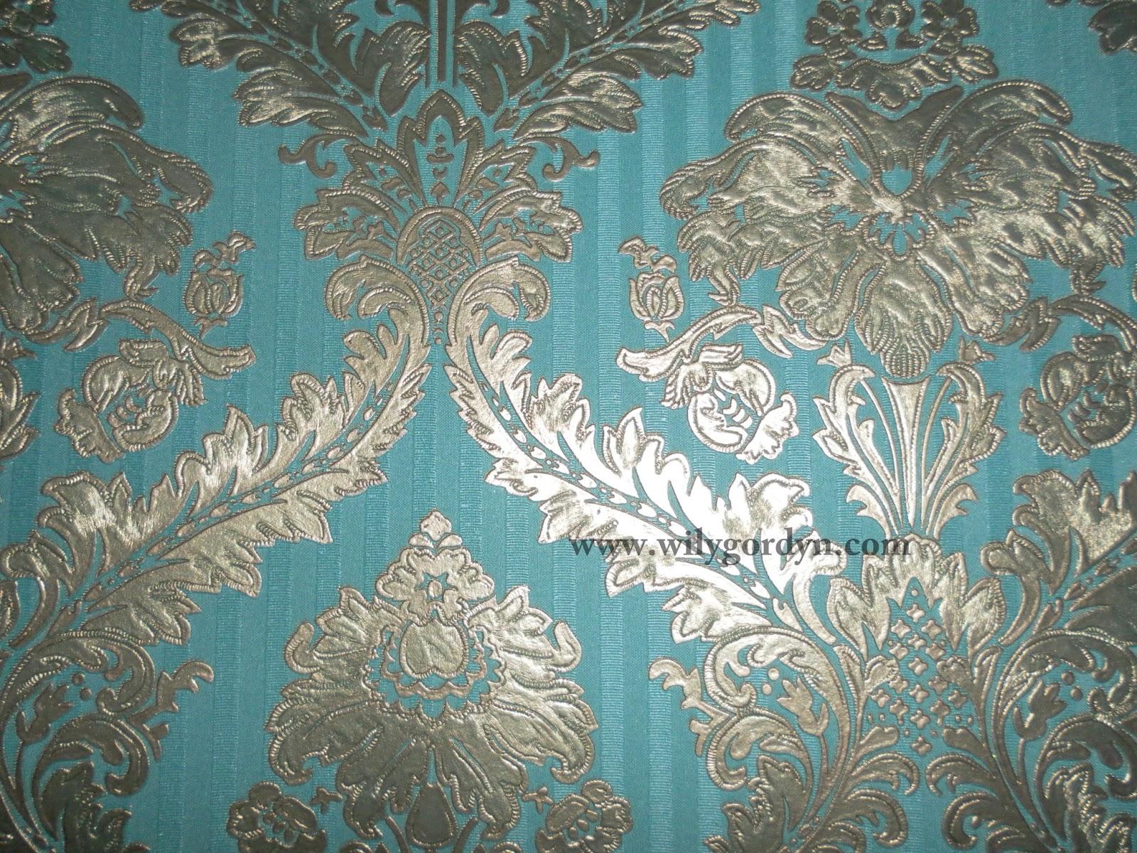 Contoh Motif Wallpaper Dinding Klasik Wily Gordyn