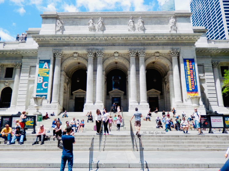 New York City Public Library | Ms. Toody Goo Shoes