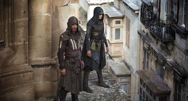Assassin's Creed scene preparation in Valletta