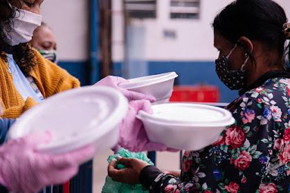 Imperador do Ipiranga comemora entrega de 35 mil marmitas desde o início da pandemia