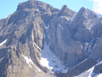 Glaciar de la cascada de Gavarnie