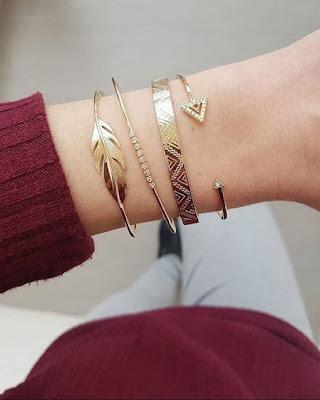 Bracelet manchette tendance