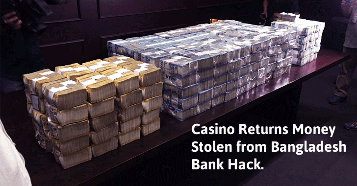 SWIFT Hack: Bangladesh Bank Recovers $15 Million from a Philippines Casino
